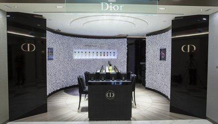 Dior at the Salon de Parfums at Harrods