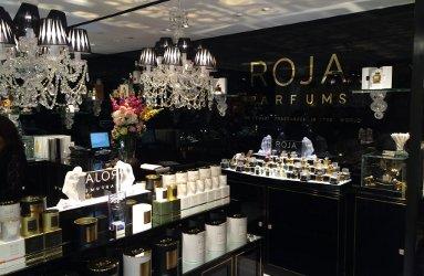 Roja Parfums at the Salon de Parfums at Harrods