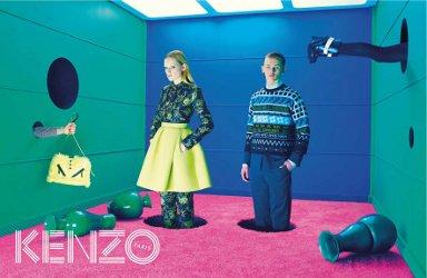 Kenzo fashion campaign