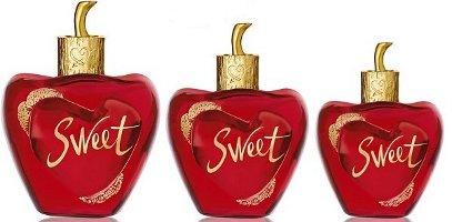 Lolita Lempicka Sweet, three bottle sizes
