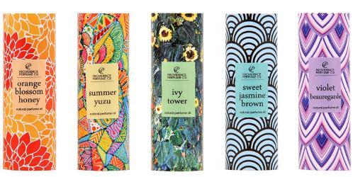 Providence Perfume Co Orange Blossom Honey, Summer Yuzu, Ivy Tower, Sweet Jasmine Brown, Violet Beauregarde