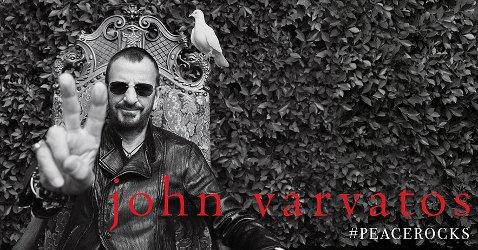 Ringo Starr for John Varvatos #peacerocks