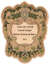 Nicolas de Barry Eau du Vizir