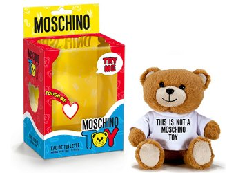 Moschino Toy perfume packaging
