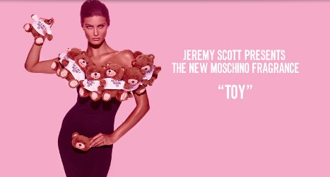 Moschino Toy banner