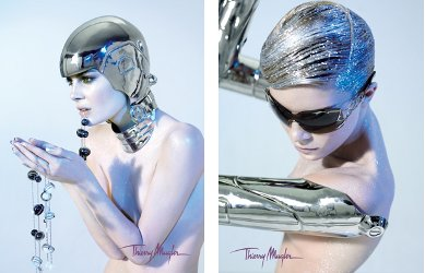 Thierry Mugler ad campaign, Yves Lavallette photographer