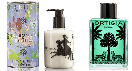 Ortigia Gelsomino Body Cream and Sandalo Bath Oil