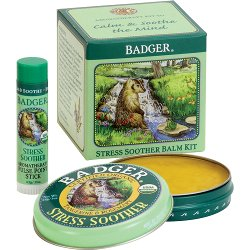 Badger Stress Soother Balm Kit