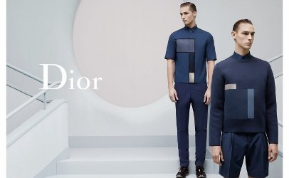 Dior Homme fashion campaign