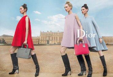 Dior Secret Garden campaign