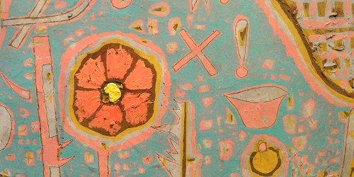 Paul Klee Efflorescence, detail