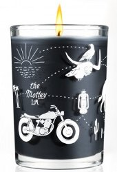 The Motley + Joya Studio, the Easy Rider candle