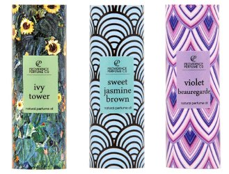 Providence Perfume Co Ivy Tower, Sweet Jasmine Brown & Violet Beauregarde