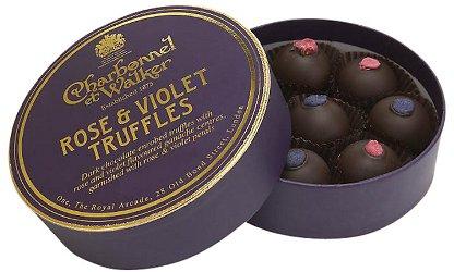 Charbonnel et Walker Rose And Violet Truffles