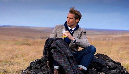 Johnnie Walker + Harris scented tweed