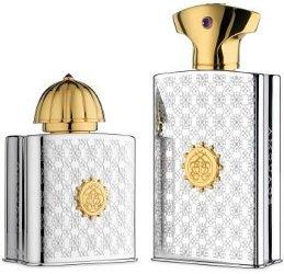 Amouage silver flasks