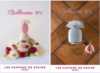 Les Parfums de Rosine Ballerina No. 1 & Ballerina No. 2