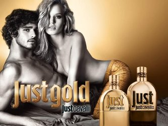 Roberto Cavalli Just Gold for Her and for Him