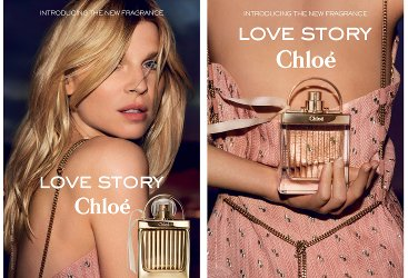 Chloé Love Story adverts