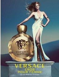 Lara Stone for Versace Eros Pour Femme