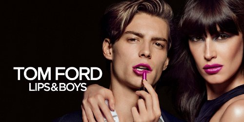 Tom Ford Lips Boys banner