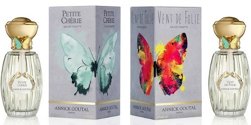 Annick Goutal butterfly ring bottles