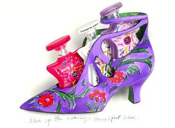 Bond no. 9 shoe for Andy Warhol Lexington Avenue
