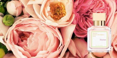 Maison Francis Kurkdjian À la Rose, brand banner