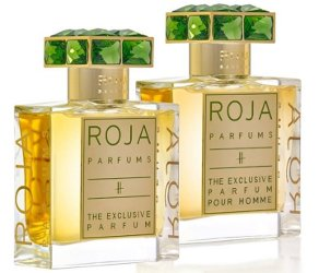 Roja Parfums H: The Exclusive Parfum and H: The Exclusive Parfum Pour Homme