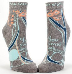 You Smell Delicious ankle socks