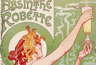 Detail, Absinthe Robette poster