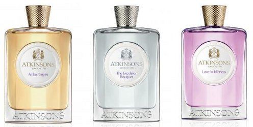 Atkinsons Amber Empire, The Excelsior Bouquet and Love in Idleness