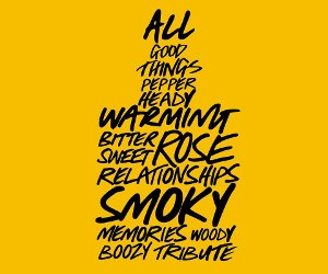 Lush All Good Things brand graphic