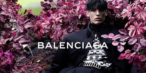 Balenciaga menswear campaign