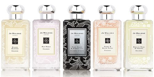 Jo Malone Bridal Lace collection