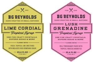 B.G. REYNOLDS cocktail syrups