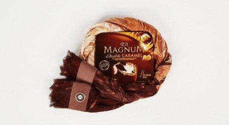 BCBG Max Azria + Magnum Belgian Chocolate Wrap