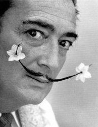 Salvador Dali flower