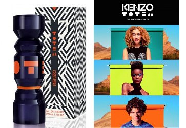 Kenzo Totem bottle and advert