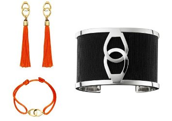 By Kilian Attache-Moi earrings and bracelets