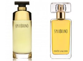 Estee Lauder Spellbound, old and new packaging
