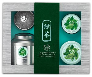 The Body Shop Fuji Green Tea gift set