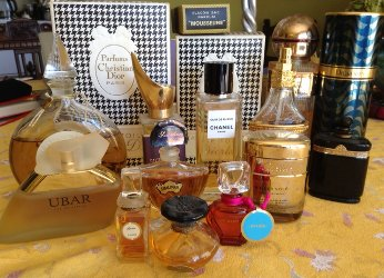 Angie's perfume collection