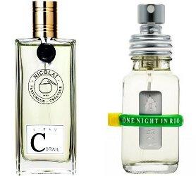 Parfums de Nicolai L'Eau Corail & A Lab on Fire One Night in Rio
