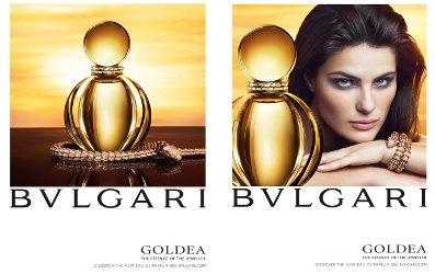 Isabeli Fontana for Bvlgari Goldea