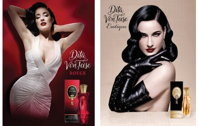Dita Von Teese Rouge and Erotique