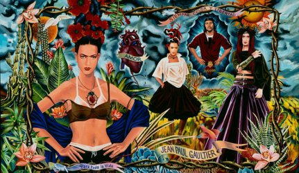 Jean Paul Gaultier Tribute to Frida Kahlo collection, 1998