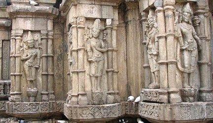 Kamakhya, temple wall