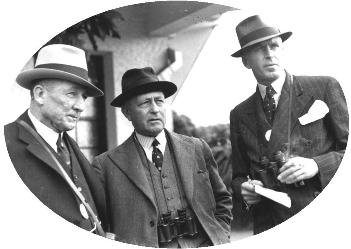 Three men at the races