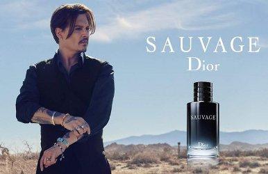 Johnny Depp for Dior Sauvage
